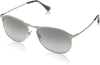 008ef4488b6 Persol Mens Sunglasses Silver Green Metal - Polarized - 56mm