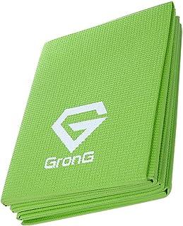 GronG(グロング) 折りたたみ ヨガマット 4mm