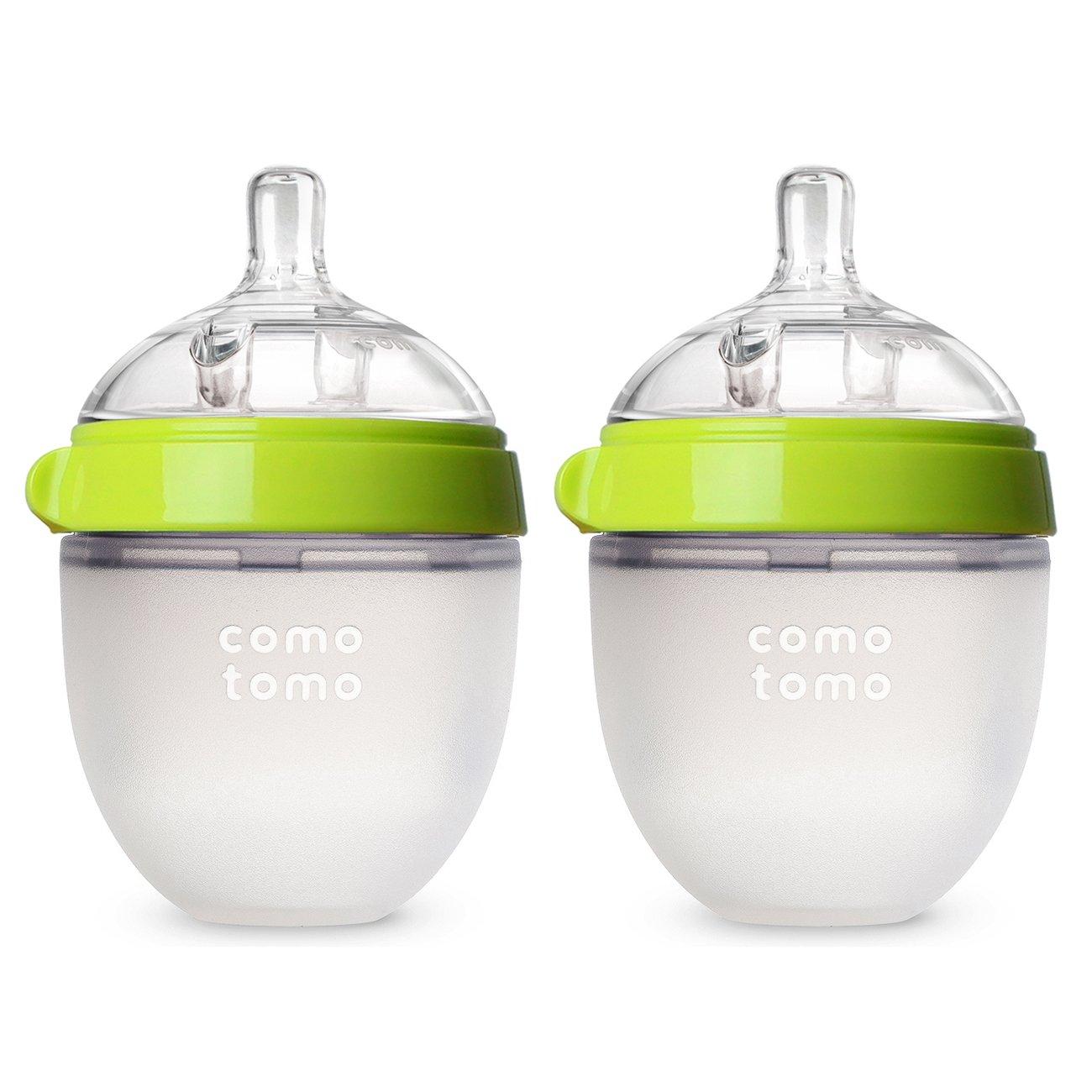 Comotomo Bottle Green Ounce Count