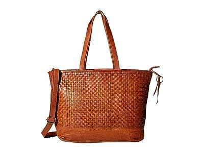 FRYE AND CO. Greta Tote (Whiskey) Handbags