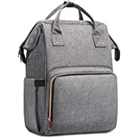 DAYNIET Multifunction Baby Diaper Tote Waterproof Nappy Bag with Stroller Straps (Grey)