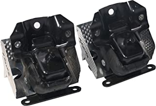 Engine Motor Mount Set of 2 with Heat Shield - Fits 2007-2014 Cadillac Escalade, Chevy Silverado, Suburban, Tahoe, GMC Sierra, Yukon - Replaces 15854941, A5365, 5365, MK5365 - Left and Right Mounts