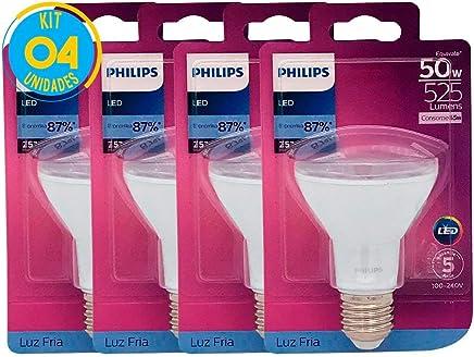 Lâmpada Led Par20 Branca Fria 6.5W Philips (4 Unidades)