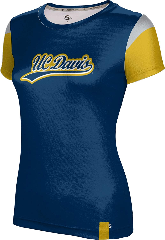 ProSphere University of California Davis Girls' Performance T-Shirt (Tailgate)