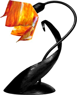 product image for Jezebel Signature TLLD-B-FP12-ZIN Flame Style Black Lazy Daisy Lamp, Zinnia