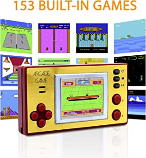 Mini Arcade Game, Handheld Game Console, Retro Arcade, Classic Arcade Games, Retro Arcade Gaming Console, 153 Games for Kids and Adults