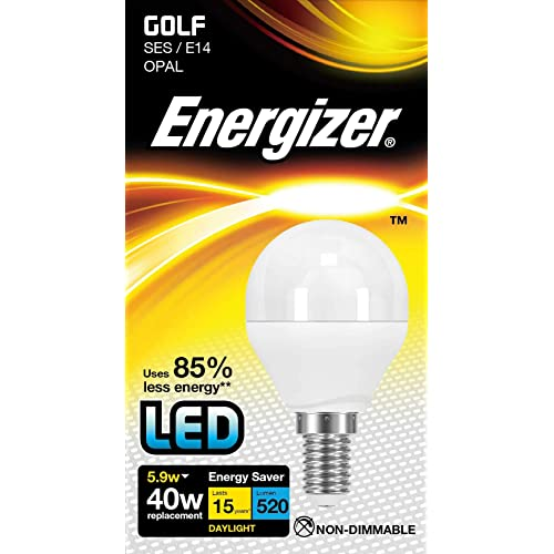 Energizer LED Energy Saving Lightbulb, E14, Daylight