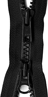 YKK Vislon 2-Way Separating Zipper, 36