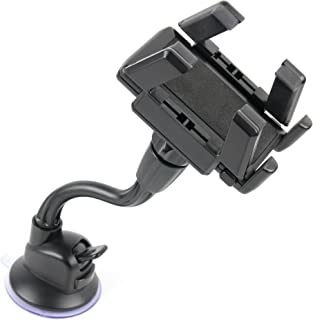 DURAGADGET Car Window GPS Satnav Holder Mount Kit with Multi Angle Viewing - Compatible with The Tomtom Models GO Live 825 Europe, XXL IQ Routes, Start 25 Europe and GO Live 1005 Europe Satnav