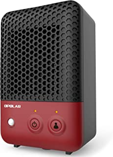 OPOLAR Mini Ceramic Heater with Infrared Human Sensor Feature, 600 W Heating for Small Room, Office,Desk,Personal or Other Cubic Space,Powerful and Portable, Stylish and Silent, ETL Approved