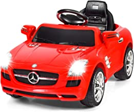 Costzon Ride On Car, Licensed Mercedes Benz SLS Battery Powered Electric Vehicle w/ Parental Remote Control, Headlights, M...