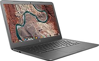 "2020 HP Chromebook 14"" IPS HD (1366x768) Laptop PC, Intel Celeron N3350 Dual-Core Processor, 4GB RAM, 32GB eMMC, WiFi, Blu..."