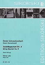 String Quartet No. 8: Arranged for Solo Piano