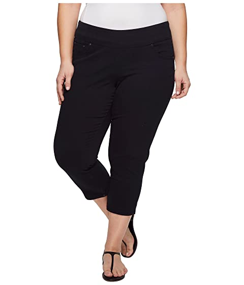82059bcf9a1 Jag Jeans Plus Size Plus Size Peri Straight Pull-On Twill Crop at 6pm