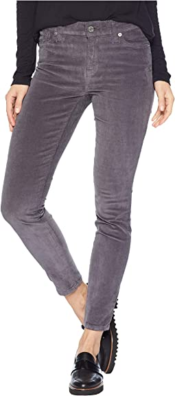 Ava Mid-Rise Skinny Jeans in Periscope Grey
