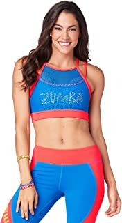 Women's Sexy Workout Dance Fitness High Neck Sports Bra for Back Support
