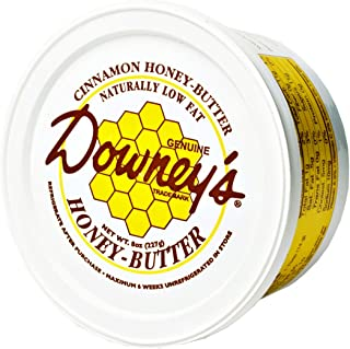 Downey's Cinnamon Honey Butter, All-natural spread to use as a marinade, or an excellent topping on croissants, ice cream,...