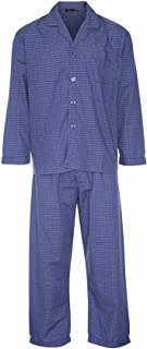 Mens Socks Uwear® Luxury Polycotton Long Pyjama Lounge Wear lounge wear Blue S