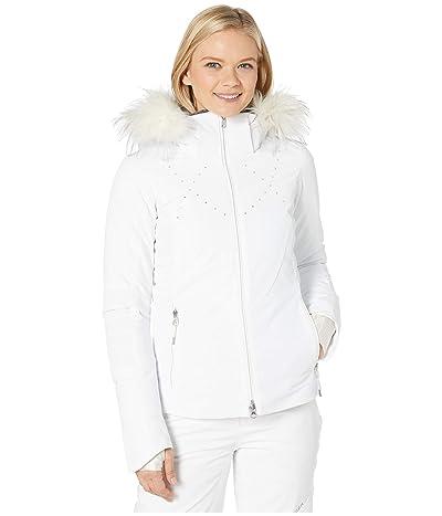 Obermeyer Evanna Down Jacket (White) Women