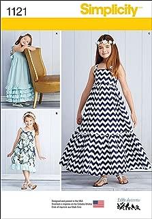 little girl maxi dress patterns