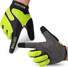 GeeRic Guantes Ciclismo Invierno Guantes,Pantalla T/áctil Impermeable Vell/ón Anti-Viento,Deportes al Aire Libre Moto