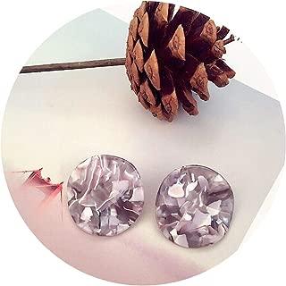 acetate pattern earrings big pendant hipster earrings women jewelry accessories