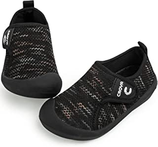 Crova أحذية مائية للأطفال سريعة الجفاف جوارب مائية غير قابلة للانزلاق أحذية رياضية للبنين والبنات الصغار
