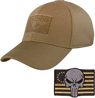 Condor Tactical Flex Cap with Punisher Morale Patch Bundle