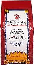 Puroast Low Acid Coffee Dark French Decaf Whole Bean, 2.5-Pound Bag
