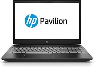HP Pavilion Gaming 15-cx0043ne 15.6 inches LED Laptop, Intel i5-8300H 2.3 GHz, 16 GB RAM, 1 TB HDD + 256 GB SSD, Nvidia GeForce GTX 1050Ti - 4GB Graphics, Windows 10, Eng-Ara KB - Black