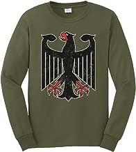 Cybertela Men's German Coat of Arms Eagle Long Sleeve T-Shirt