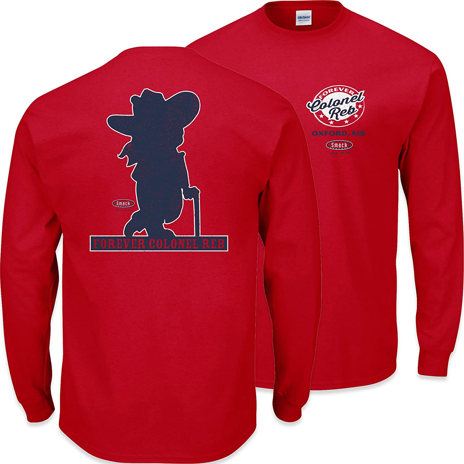 Ole Miss Football Fans Sm-5X Forever Colonel Reb T Shirt or Sticker