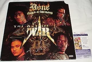 Bone Thugs n Harmony Signed / Autographed The Art of War Album / LP - JSA M67776