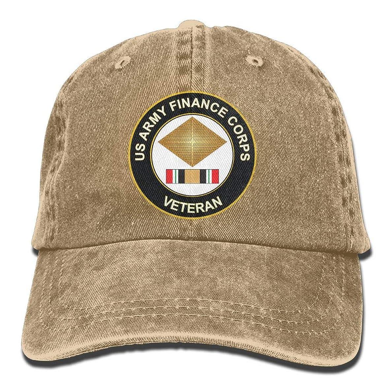KERLANDER Army Finance Corps Iraq Veteran Adjustable Washed Twill Baseball Cap Dad Hat