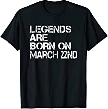 legend are born on march