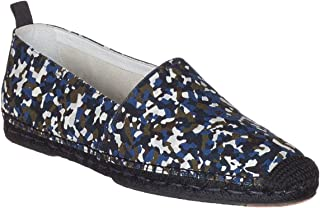 FENDI Men's Camouflage Granite Print Espadrilles Loafers Flats Shoes