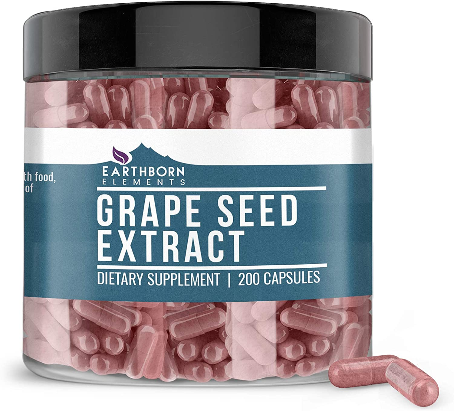 Pure Grape Seed Extract Shipping included 400 mg San Diego Mall 200 Bottle Nat Serving