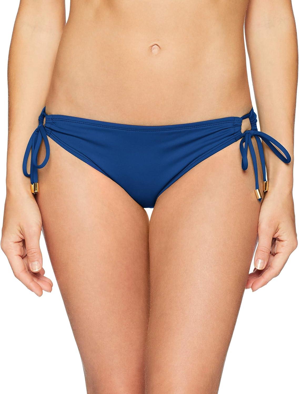 La Blanca Women's Standard Island Goddess Side Loop Hipster Bikini Swimsuit Bottom