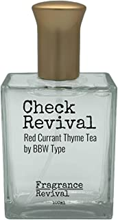 Check Revival, Red Currant Thyme Tea by BBW Type