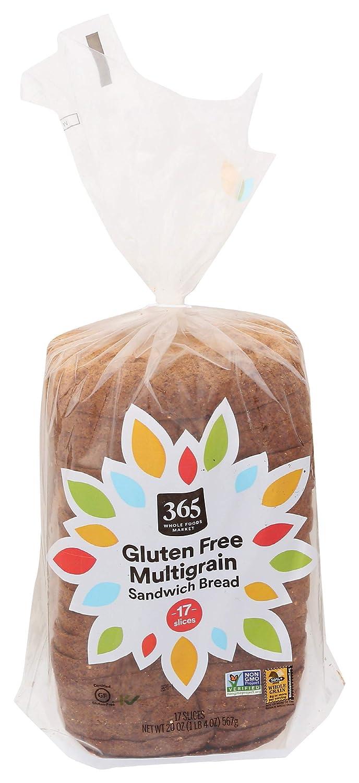 Deluxe 365 by Whole Foods Deluxe Market Gluten-Free Ounc Multigrain Bread 20