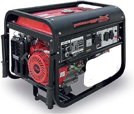 Generador Corriente 4tiempos gasolina 5500W Grupo electrógeno Camping 5,5KW
