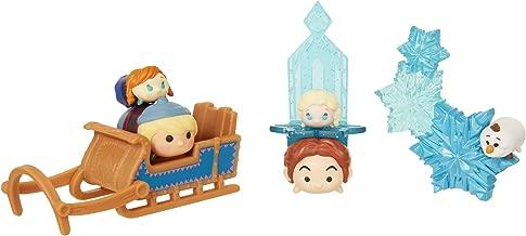 Tsum Tsum Disney -Tsnowy Fun 8Piece Frozen Theme Collectible Set Collectible Figures