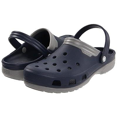 Crocs Duet (Navy/Smoke) Clog Shoes