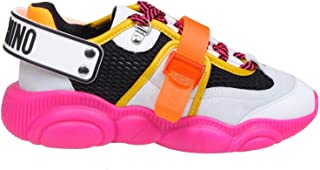 MOSCHINO Women's MA15503G28100604 Multicolor Polyester Sneakers