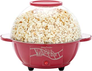 Betty Crocker BC-2970CR Cinema-Style Popcorn Maker, Red