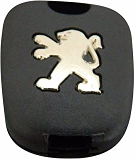 BDP514 Simplex Type 2-Button Remote Key Housing Case Cover For Peugeot 107 207 307 407 106 206 306 406