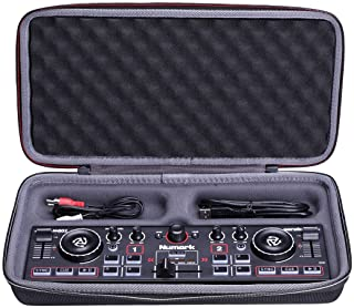 XANAD Hard Case for Numark DJ2GO2 Touch – Compact 2 Deck USB DJ Controller Travel Protective Carrying Storage Bag