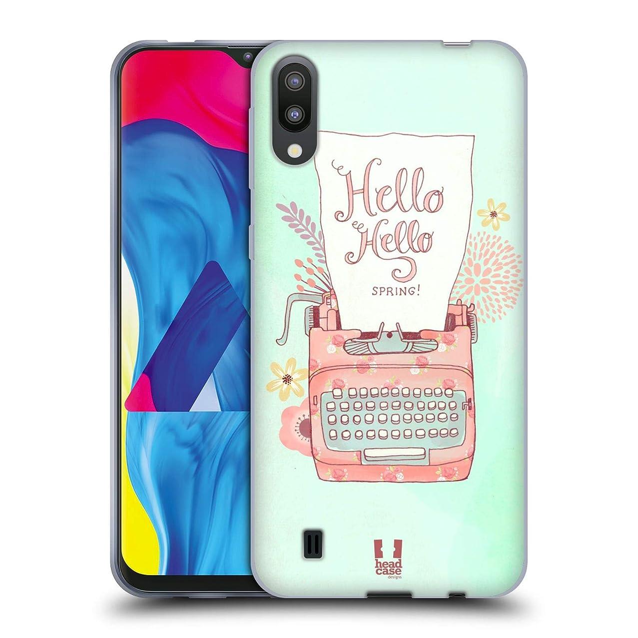 Head Case Designs Typewriter Loveliest Spring Soft Gel Case Compatible for Samsung Galaxy M10 (2019)