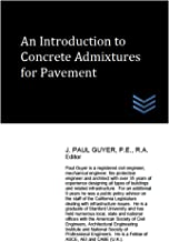 An Introduction to Concrete Admixtures for Pavement eBook: J