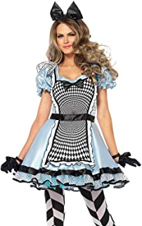 Leg Avenue Women's Hypnotic Alice in Wonderland Halloween Costume